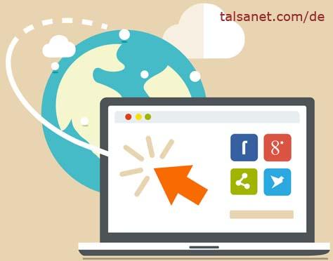 Social Media Positionierung - Talsa