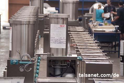 Marktführer bei Maschinen für die Fleischindustrie
