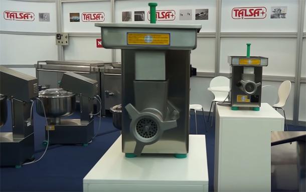 Talsa ist ein Hersteller von Maschinen für die Fleischindustrie