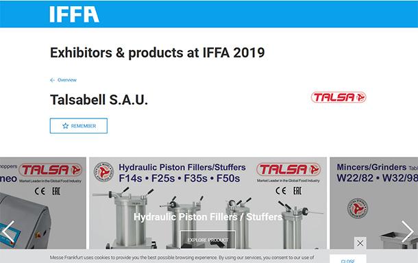 IFFA 2019 – TALSA