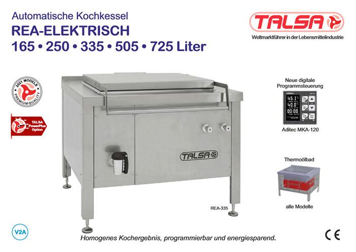 Kochkessel für die Fleischindustrie | Talsa